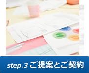 step.3 ご提案とご契約